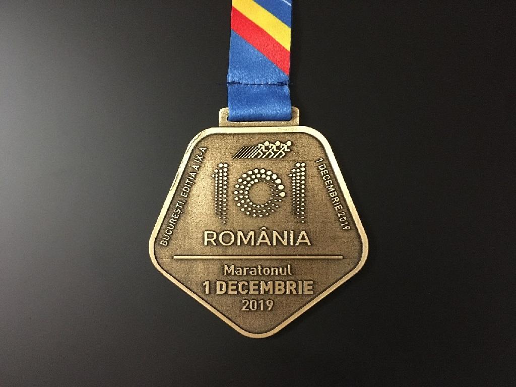 Medalie 2019 - Maratonul 1 Decembrie