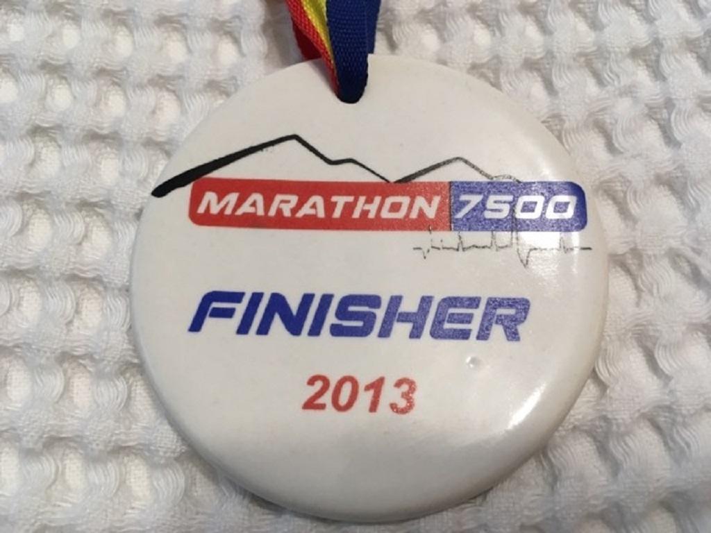 Medalie 2013 - Maraton 7500