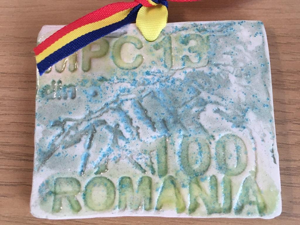 Medalie 2018 - Maraton Piatra Craiului