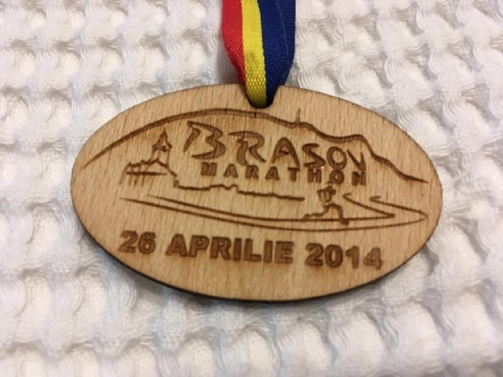 Medalie 2014 - Brasov maraton