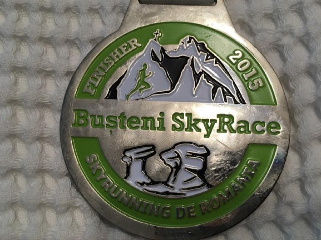 Medalie 2015 - Busteni Sky Race