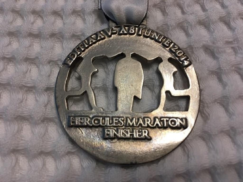 Medalie 2014 - Hercules Maraton