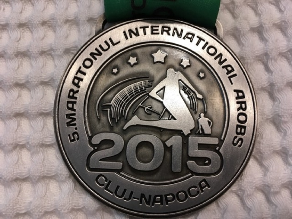 Medalie 2015 - Maratonul International Cluj