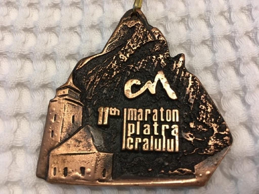Medalie 2016 - Maraton Piatra Craiului