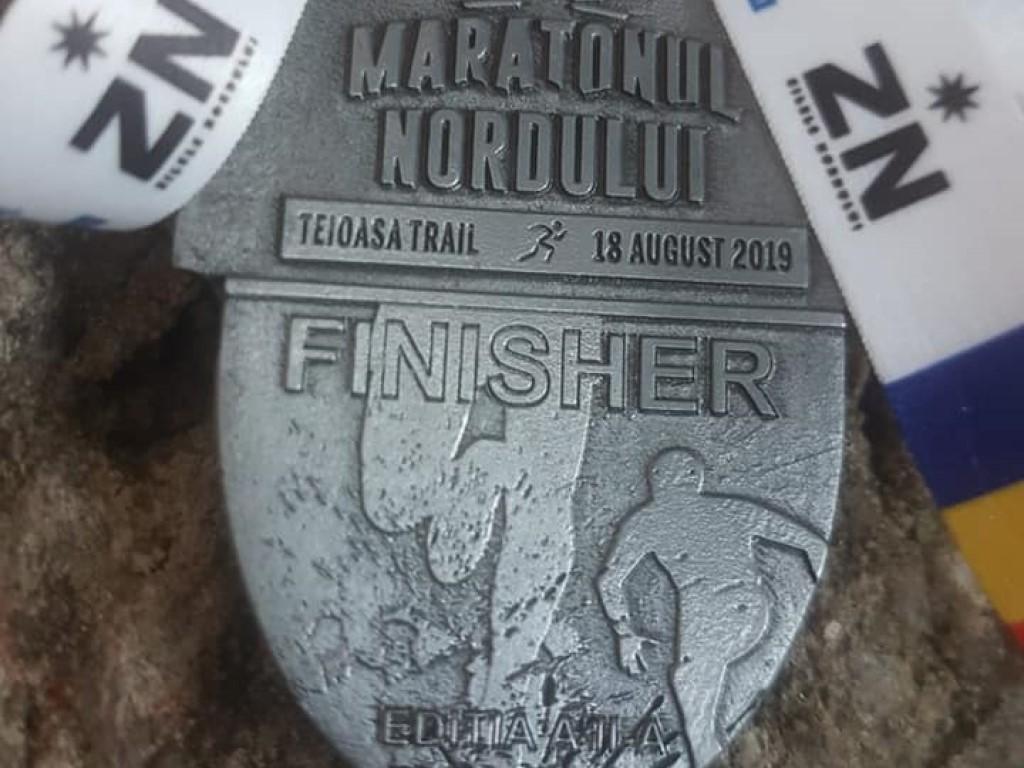 Medalie 2019 - Maratonul Nordului