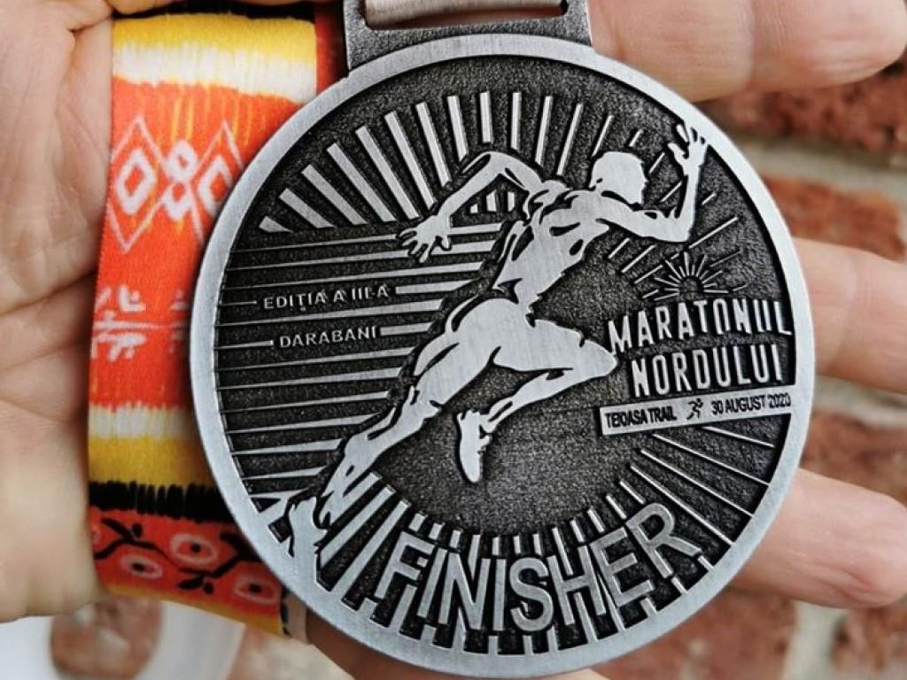 Medalie 2020 - Maratonul Nordului