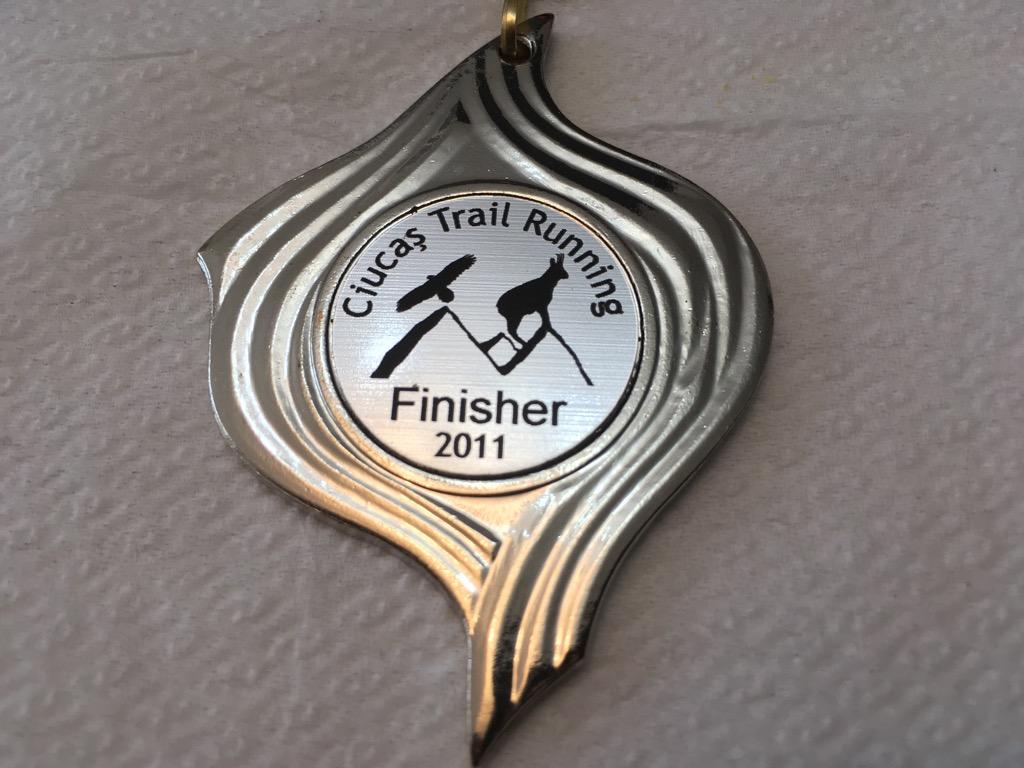 Medalie 2011 - Ciucas X3