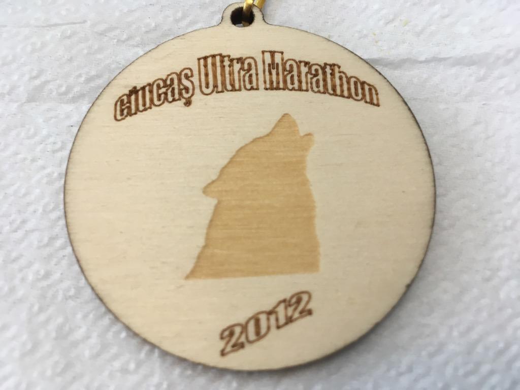 Medalie 2012 - Ciucas X3