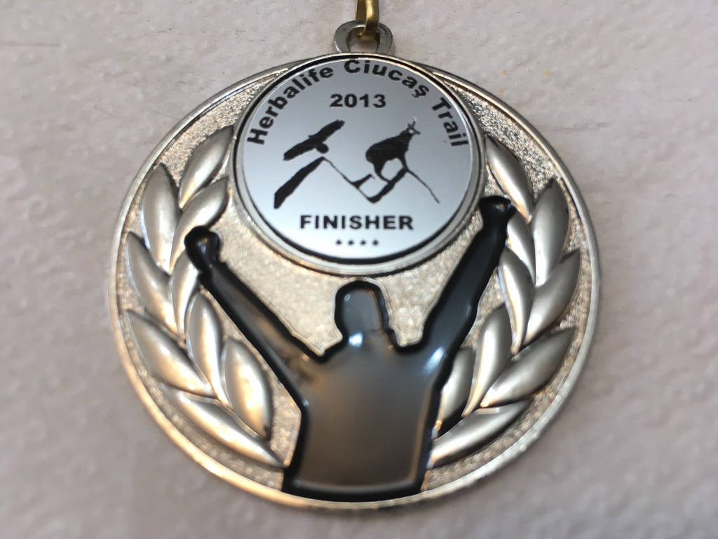 Medalie 2013 - Ciucas X3