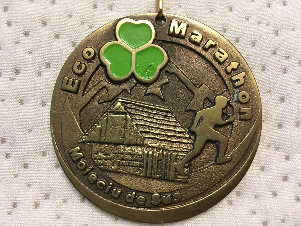 Medalie 2016 - EcoRun (fost EcoMarathon)