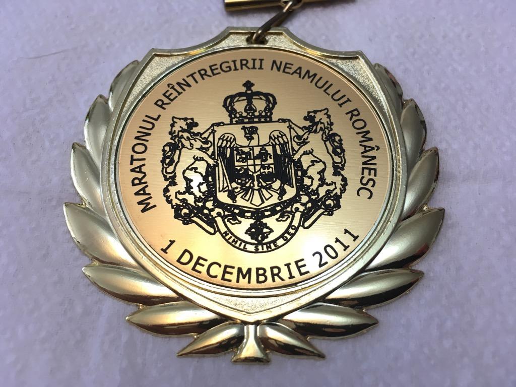 Medalie 2011 - Maratonul 1 Decembrie
