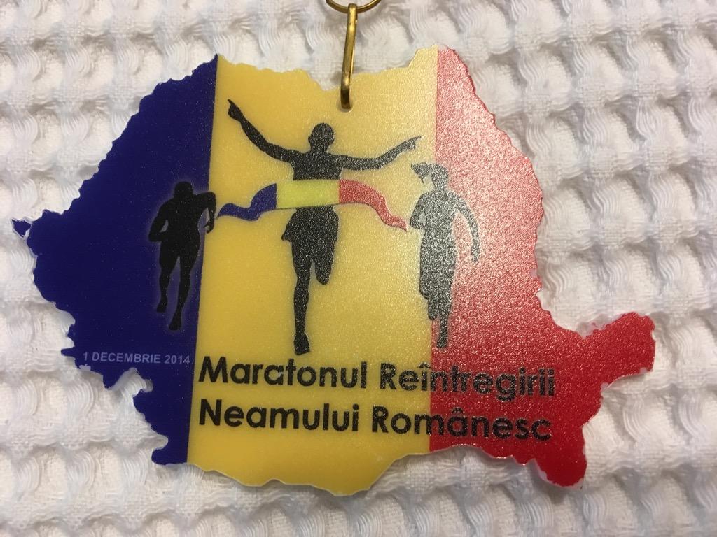 Medalie 2014 - Maratonul 1 Decembrie
