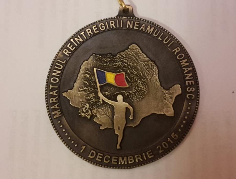 Medalie 2015 - Maratonul 1 Decembrie