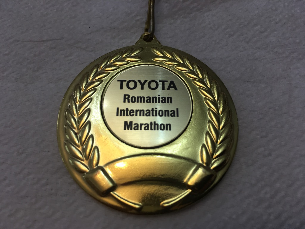 Medalie 2008 - Maratonul International Bucuresti