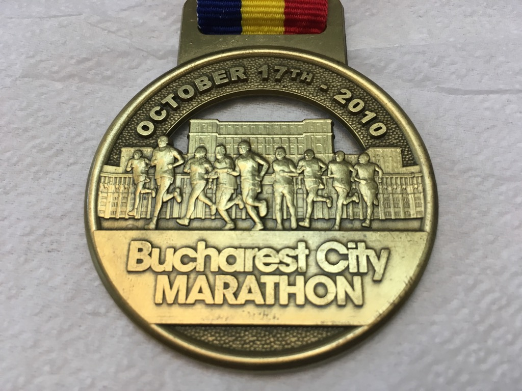 Medalie 2010 - Maratonul International Bucuresti