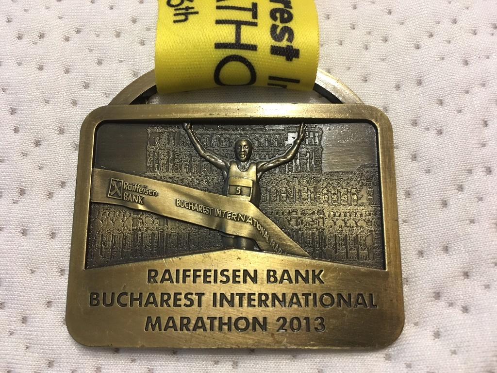 Medalie 2013 - Maratonul International Bucuresti