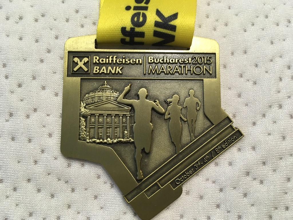 Medalie 2015 - Maratonul International Bucuresti