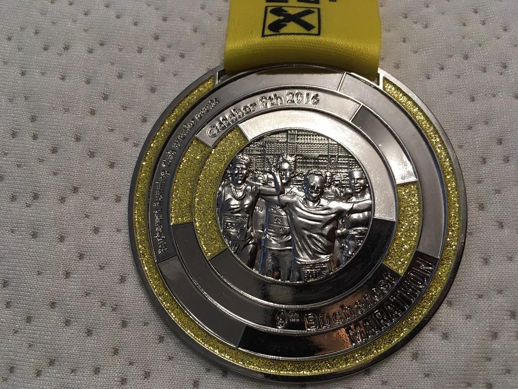 Medalie 2016 - Maratonul International Bucuresti