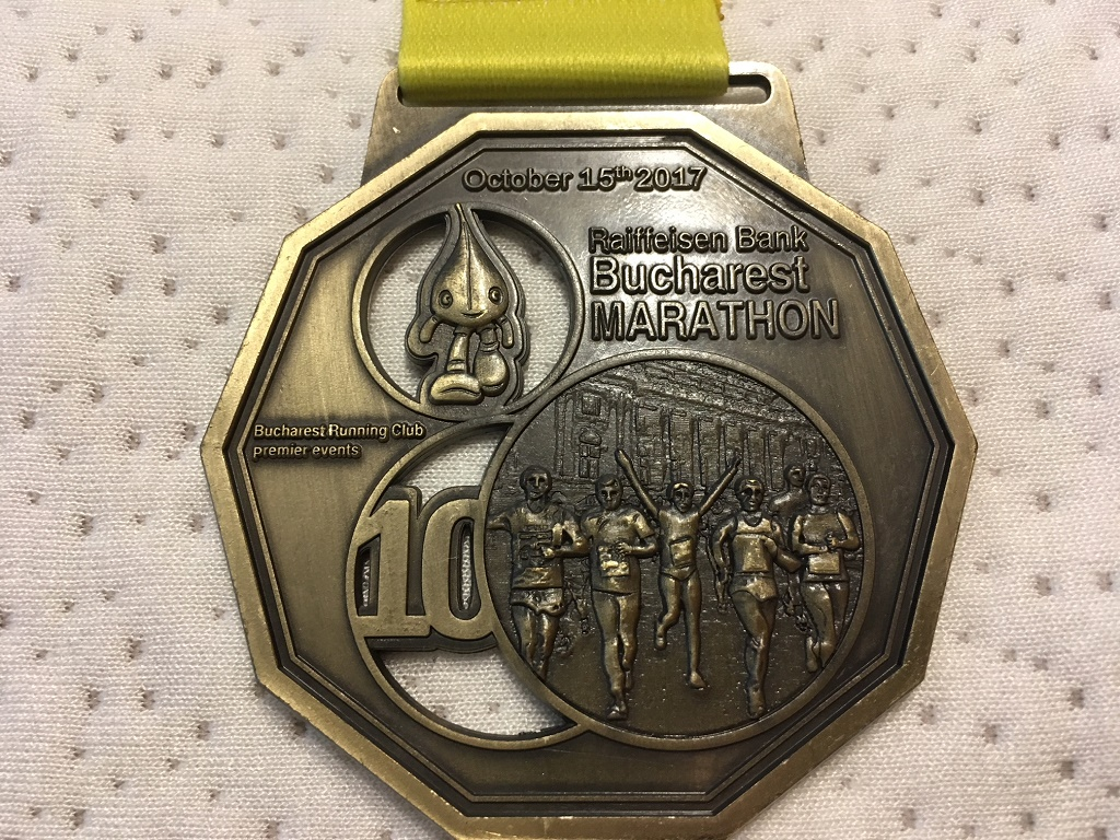 Medalie 2017 - Maratonul International Bucuresti