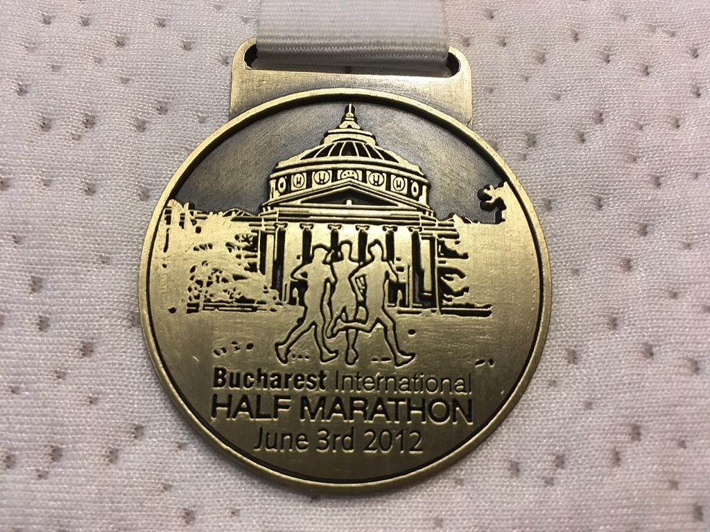 Medalie 2012 - Semimaratonul International Bucuresti