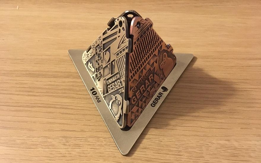 Piramida medalii Gerar