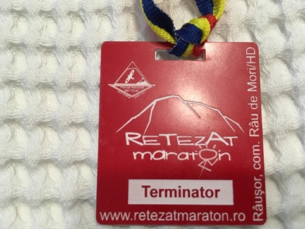 Medalie 2013 - Retezat Maraton