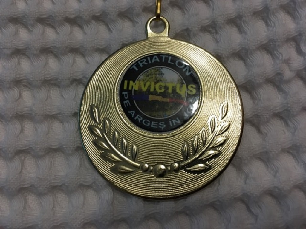 Medalie 2016 - Triatlon Invictus