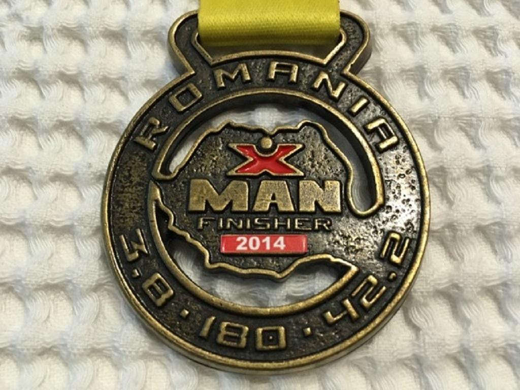 Medalie 2014 - X Man Romania