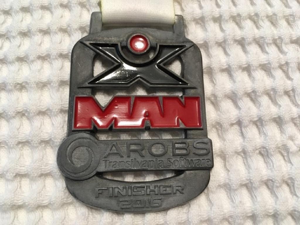 Medalie 2016 - X Man Romania